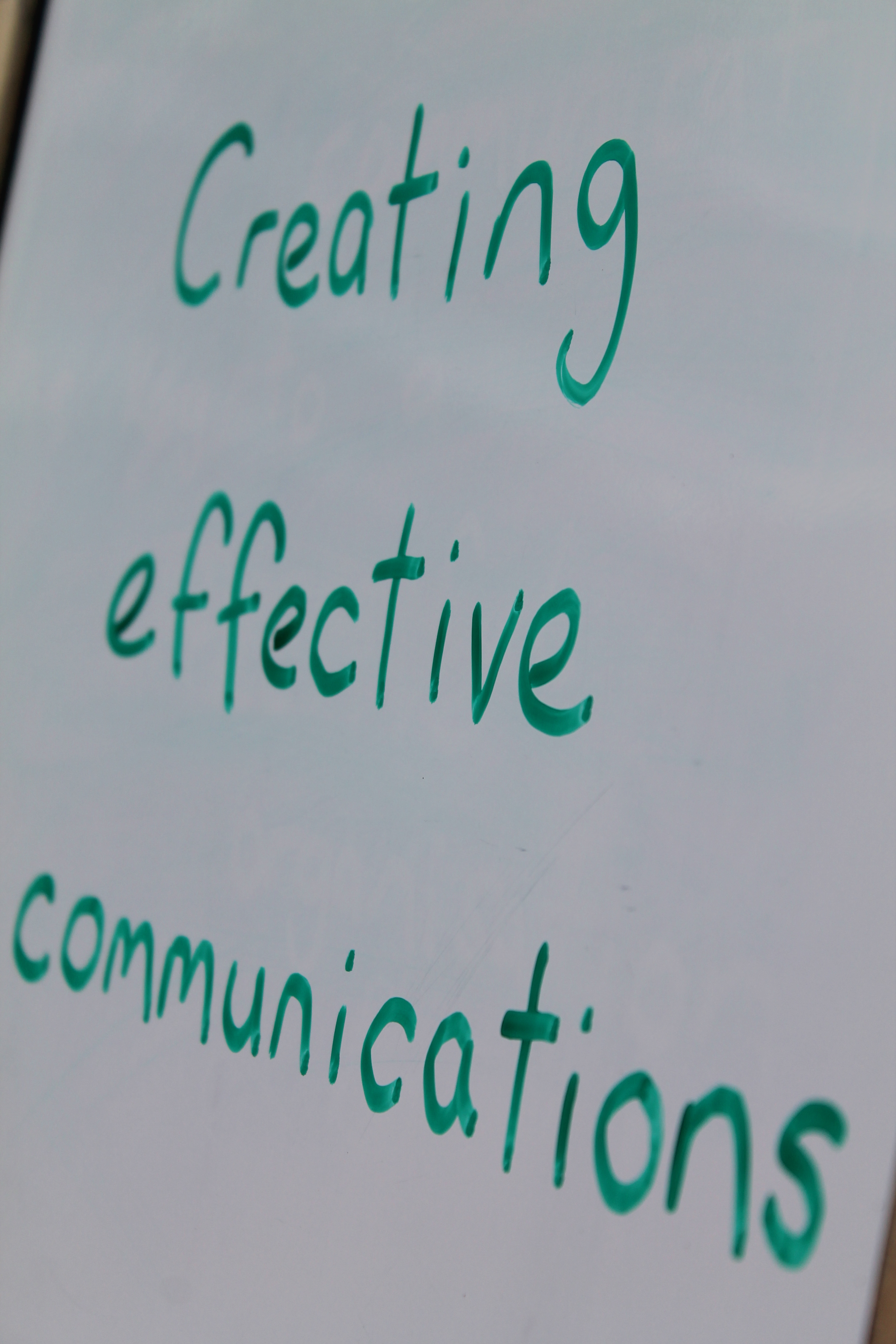 Creating effective communications