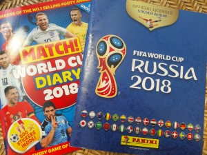 World Cup Sticker Books